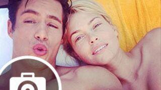 Instagram : Caroline Receveur topless avec son chéri, Laury Thilleman en maillot (41 PHOTOS)