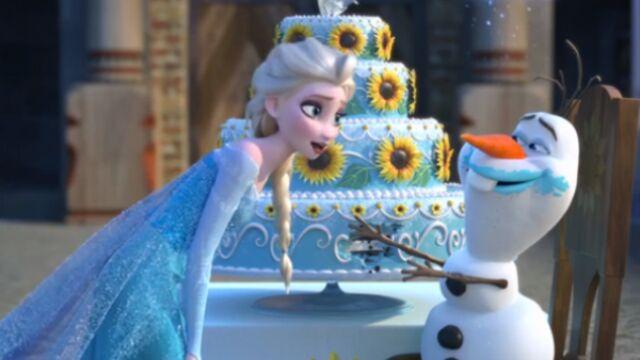 La Reine des neiges : découvrez le court métrage Une fête givrée (VIDEO)