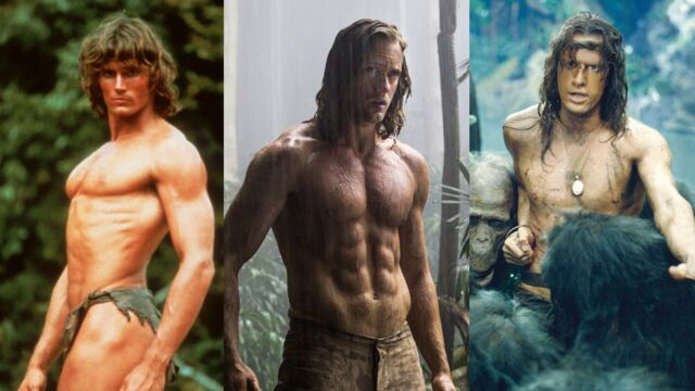 Découvrez les différents visages de Tarzan au cinéma ! (17 PHOTOS)