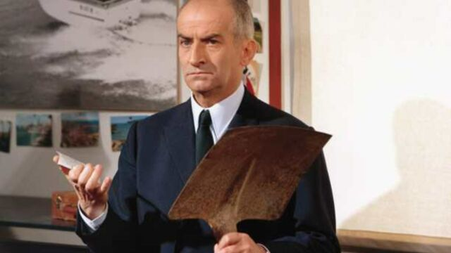 Louis de Funès tombe le masque