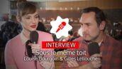 Sous le même toit (TF1) : Louise Bourgoin et Gilles Lellouche reviennent sur leurs galères de couple (VIDEO)
