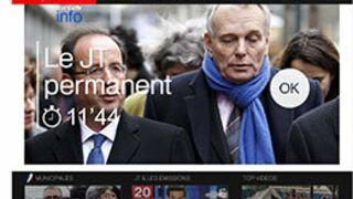 FranceTV Info lance un « JT permanent » sur les télévisions connectées