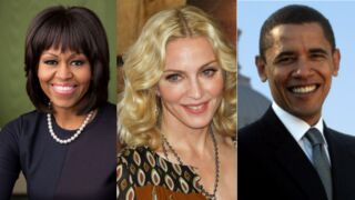 Madonna : elle prépare un show télé avec… Barack et Michelle Obama !