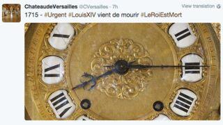Le Château de Versailles livetweete la mort de Louis XIV pour son 300e anniversaire