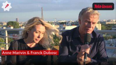 """Franck Dubosc-Anne Marivin : """"Si on nous croit en couple, Les Beaux malaises seront un succès !"""" (VIDEO)"""