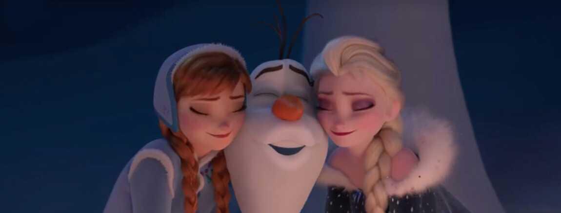 La Reine Des Neiges Disney Devoile Les Premieres Images D Un