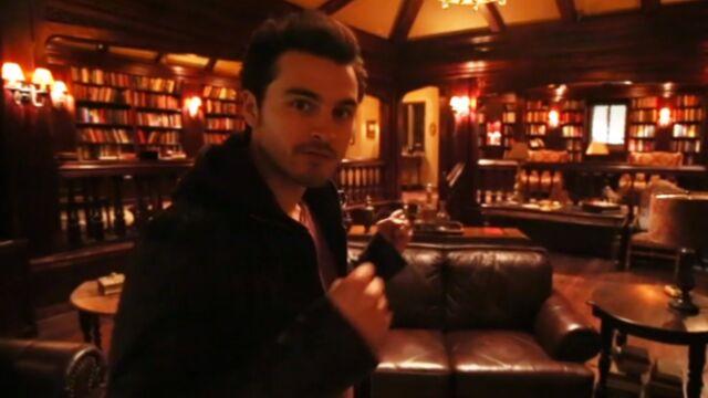 Les coulisses surprenantes de Vampire Diaries (VIDEO)