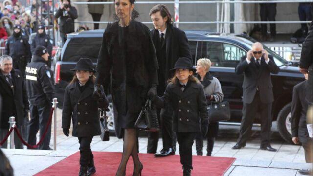 Obsèques de René Angélil : Céline Dion entourée de stars aux funérailles (PHOTOS)