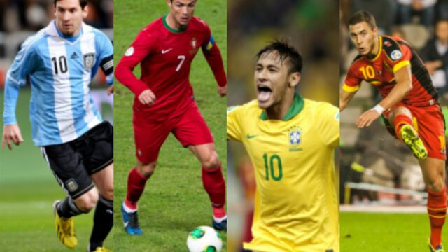 Coupe du Monde 2014 : les 11 stars à suivre (PHOTOS)