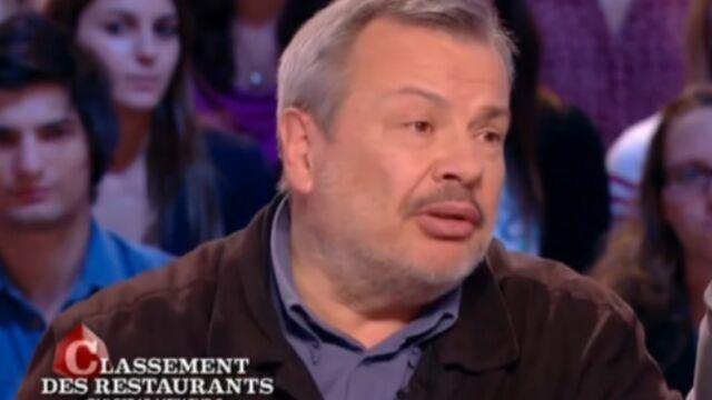 Le critique gastronomique Périco Légasse recruté par Public Sénat