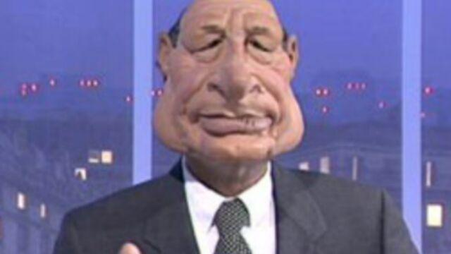 Les Guignols : du cannabis dans la marionnette de Jacques Chirac ! (VIDÉO)