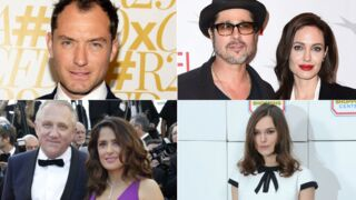 Brad Pitt, Angelina Jolie, Keira Knightley, Jude Law… ces stars qui aiment la France (PHOTOS)