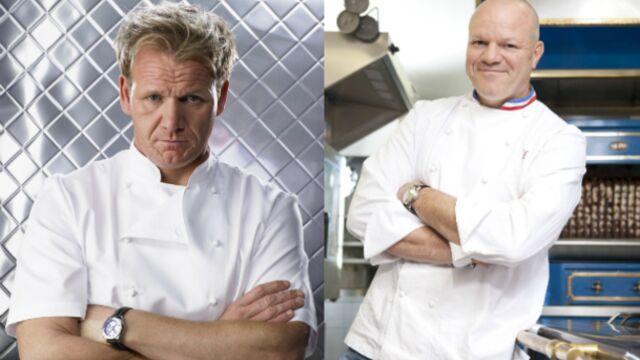 Cauchemar en cuisine : Gordon Ramsay marche sur les plates-bandes de Philippe Etchebest