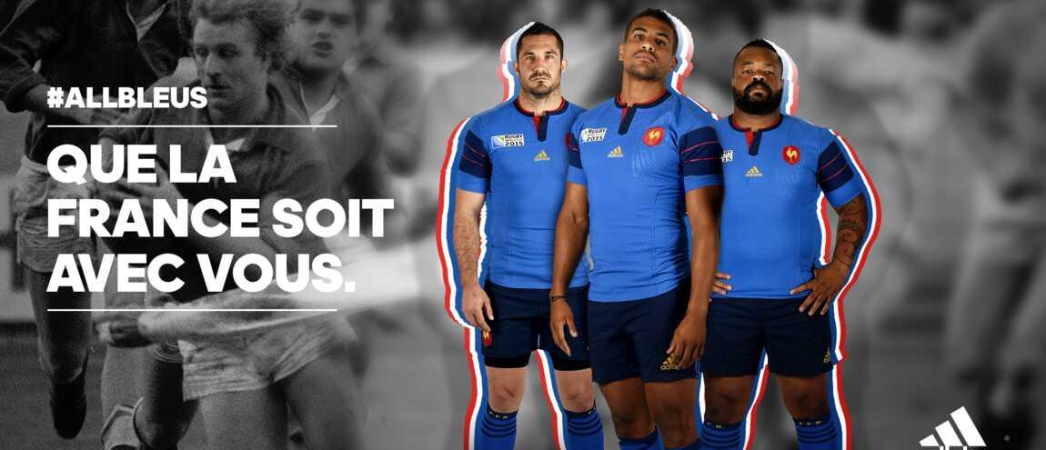 8f03ec90fc3c Rugby   Voici le nouveau maillot de l équipe de France pour la Coupe ...