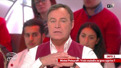 """L'attaché de presse de Polnareff : """"On ne peut pas remettre en cause la parole d'un médecin ! """" (VIDEO)"""