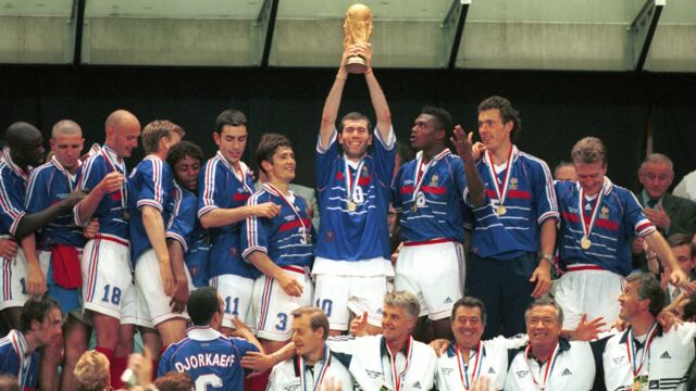 C'était l'été 1998... La France remportait le mondial de football !