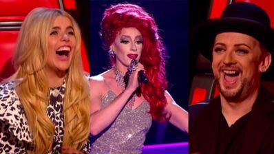 The Voice UK : L'étonnante audition d'une drag queen fait le buzz (VIDEO)