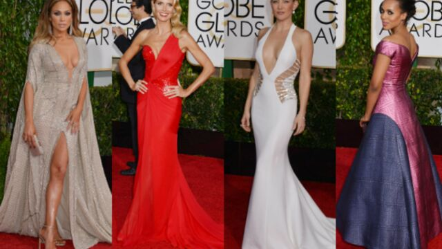 Golden Globes 2015 : les plus belles tenues du tapis rouge (PHOTOS)