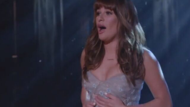 Lea Michele, la nouvelle Reine des neiges de Glee (VIDEO)