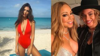 Instagram : Emily Ratajkowski aux Bahamas, selfie entre copines pour Mariah Carey et Beyoncé... (35 PHOTOS)