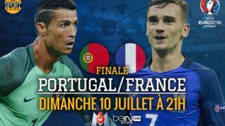 Programme TV Euro 2016 : tout ce qu'il faut savoir sur la finale Portugal-France