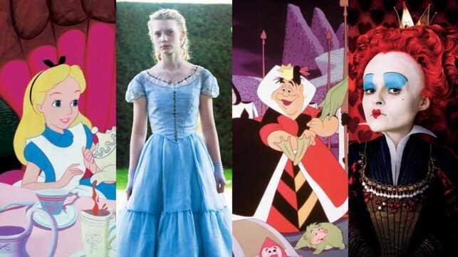 Extraordinaire Alice Au Pays Des Merveilles Dessin Animé alice au pays des merveilles (m6) : faites la comparaison entre les
