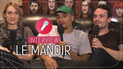 Le Manoir (Altice Studio) : Mister V, Natoo... Les Youtubeurs nous confient leur plus grande peur ! (INTERVIEW VIDEO)