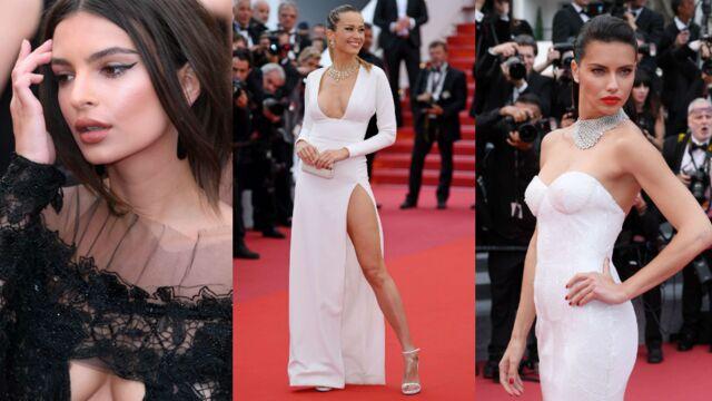 Cannes 2017 : Emily Ratajkowski, Petra Nemcova… Les tops assurent en décolletés et robes fendues ! (22 PHOTOS)
