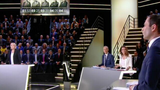 Audiences : Gros succès pour le débat de la Présidentielle sur TF1