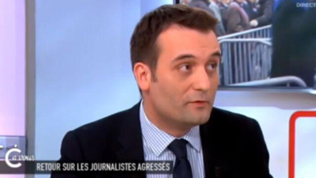 Florian Philippot (FN) s'en prend au Petit Journal (VIDEO)