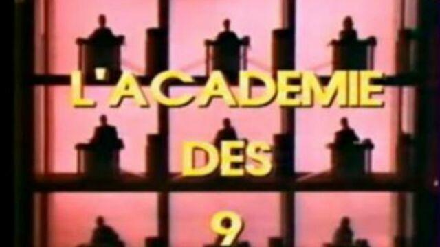 L'Académie des 9 bientôt de retour à la télé