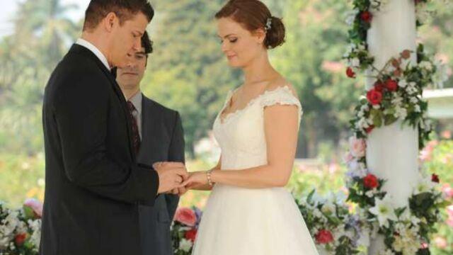 Bones : Le mariage de Brennan et Booth (PHOTOS)