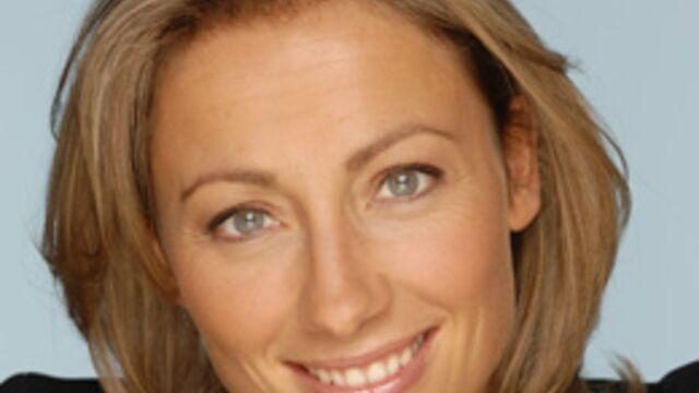Anne-Sophie Lapix présente le 13 heures de TF1 ce samedi