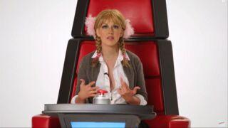 The Voice US : Christina Aguilera se moque de Britney Spears, Sia et Miley Cyrus (VIDEO)
