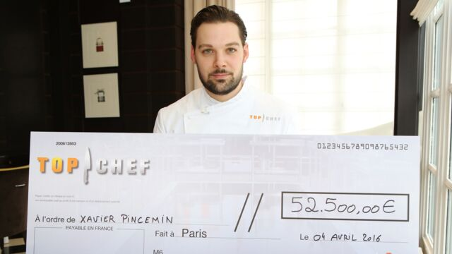 Top Chef 2016 : Xavier Pincemin remporte la compétition !