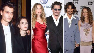 Johnny Depp a 57 ans : Winona Ryder, Vanessa Paradis, Amber Heard… toutes les femmes de sa vie (PHOTOS)