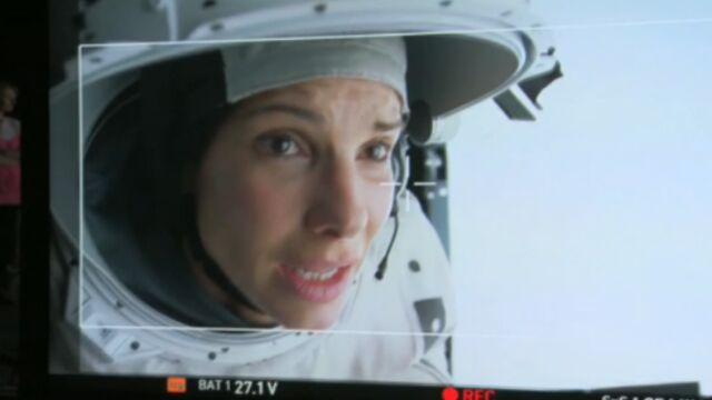 George Clooney et Sandra Bullock dans un making of de Gravity (VIDEO)
