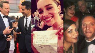 Emmy Awards 2016 : les acteurs de Veep, Game of Thrones, Modern Family … dévoilent les coulisses de la soirée (PHOTOS)