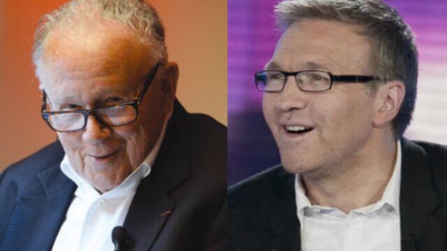 Le torchon brûle entre Laurent Ruquier et Philippe Bouvard