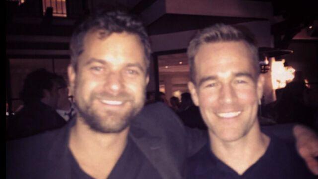 Dawson : les retrouvailles de James Van Der Beek et Joshua Jackson