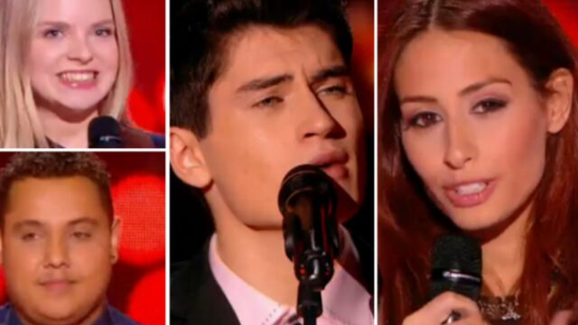 Une star du Liban, un fan d'Elvis, un ancien recalé… Qui a séduit les coachs de The Voice ? (VIDÉOS & PHOTOS)