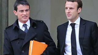 Le Premier ministre Manuel Valls et Emmanuel Macron invités des 20 heures de TF1 et France 2