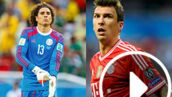 Coupe du monde 2014 : Croatie-Mexique, explosif face-à-face Ochoa-Mandzukic