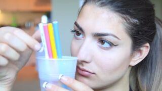 Le maquillage au crayon de couleur, la nouvelle tendance dangereuse sur Youtube