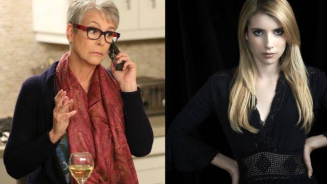 Jamie Lee Curtis et Emma Roberts sont les Scream Queens de la Fox