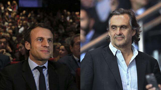 Après avoir produit un documentaire sur Emmanuel Macron, Emmanuel Chain le soutient !