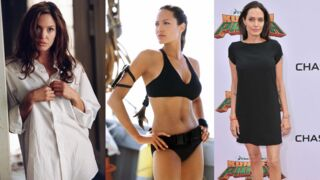 Angelina Jolie (Mr & Mrs Smith sur D8) : l'impressionnante évolution physique de l'actrice ! (28 PHOTOS)