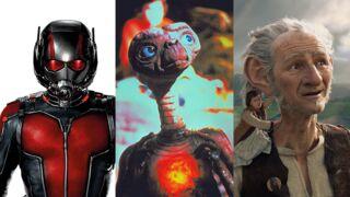 Héros cultes de cinéma : du plus petit au plus grand, de Ant-Man au Bon Gros Géant (INFOGRAPHIE)