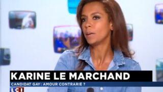 """Karine Le Marchand met fin à la polémique Guillaume : """"Il faut qu'il soit heureux et ne communique plus"""""""