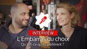 L'Embarras du choix (TF1) : draguer ou être dragué ? Alexandra Lamy et Jérôme Commandeur répondent (VIDEO)